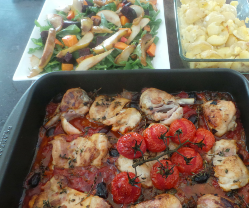 Mediterranean Chicken Bake | Detox Destinations